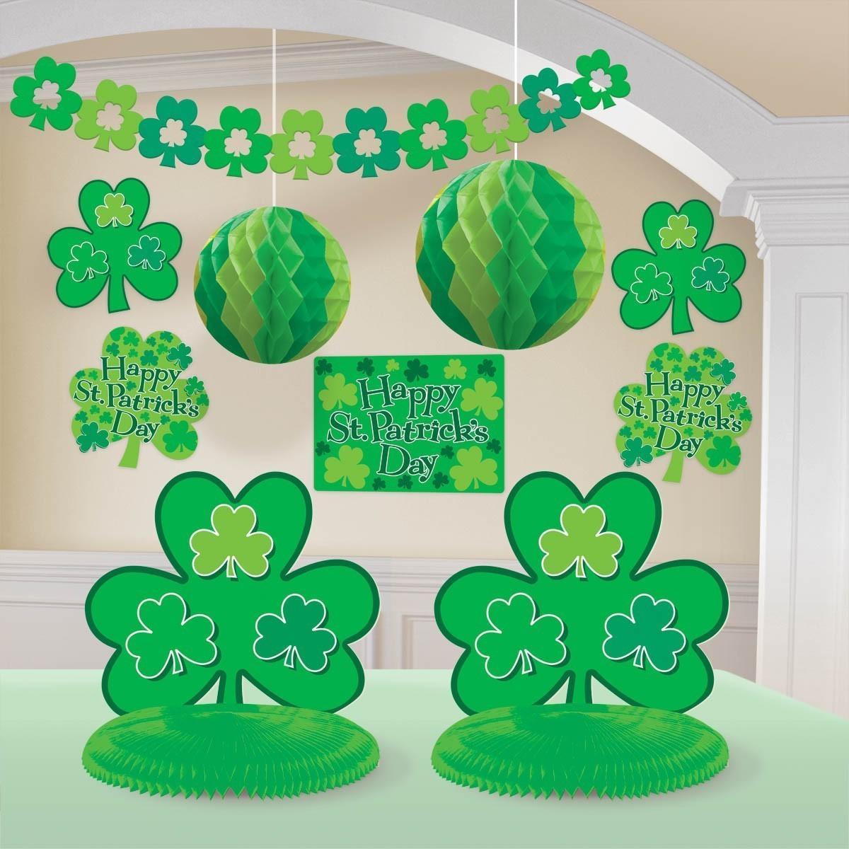 Kit Decoracion Trebol Verde San Patrick