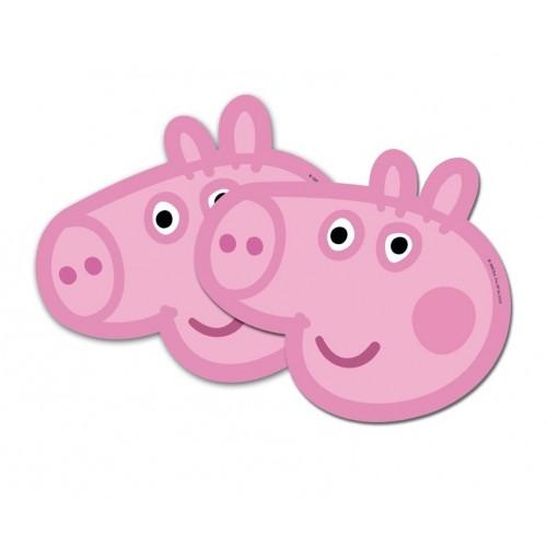 PAQ.6/U CARETA PEPPA PIG