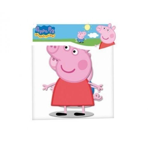 2 MINIS SILUETAS PEPPA PIG 30CM