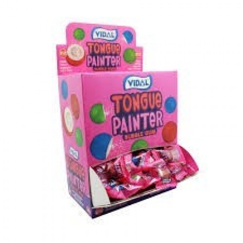 E/PAQ.10/U CHICLES TONGUE PAINTER VIDAL