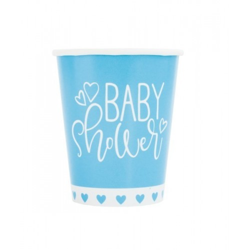 PAQ.8/U VASO BABY SHOWER 266ML