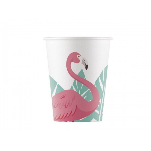 PAQ.8/U VASO FLAMINGO 200ML