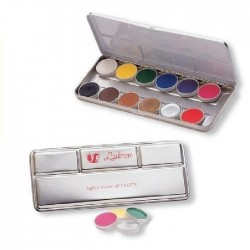 PALETA MAQUILLAJE AL AGUA MAKE UP