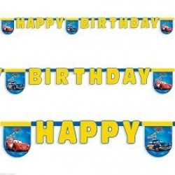 GUIRNALDA HAPPY BIRTHDAY CARS RACING