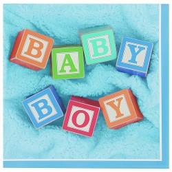 PAQ.24/U SERV.25 2/C BABY BOY CELESTE
