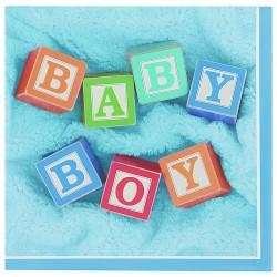 PAQ.24/U SERV.33 2/C BABY BOY CELESTE