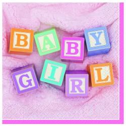 PAQ.24/U SERV.33 2/C BABY GIRL ROSA