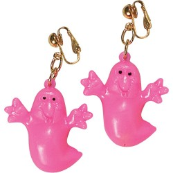 SET COLLAR PENDIETE FANTASMA HALLOWEEN