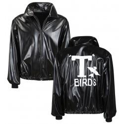 CHAQUETA T-XL NEGRA T-BIRDS AÑOS50