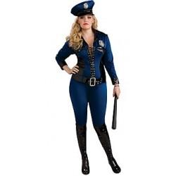 DISFRAZ T-XL CHICA POLICIA LADY