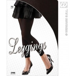 PAR LEGGINGS NEGRO T-UNICA