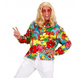 CAMISA ADULTO T-XL FLOWER POWER