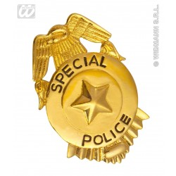 PLACA SPECIAL POLICIA F.B.I