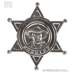 PLACA ESTRELLA SHERIFF