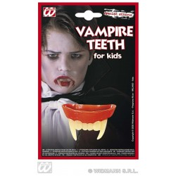 DENTADURA VAMPIRO INFANTIL LATEX