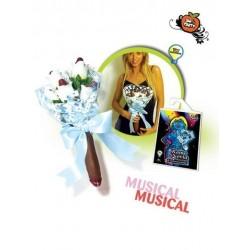 RAMO NOVIA MUSICAL FLUORECENTE PENE TUL