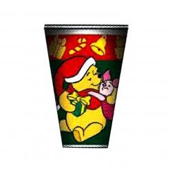 PAQ.6/U VASO WINNIE CHRISTMAS 200CC