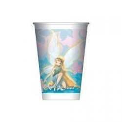PAQ.8/U VASO FAIRIES PRISMATIC 200ML