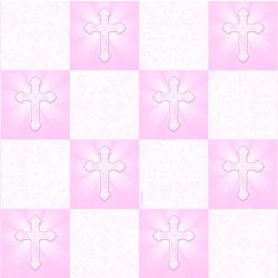 R/PAPEL REGALO COMUNION ROSA 0,76X1,5MT