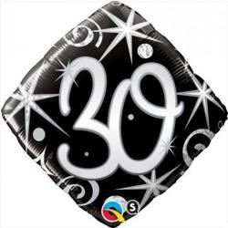 """GLOBO 18"""" FOIL ROMBO N30"""
