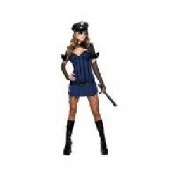 SW DISFRAZ T-S CHICA POLICIA SEXY