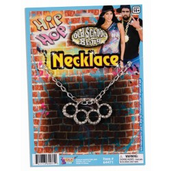 COLLAR NUDILLO STRASS HIP HOP
