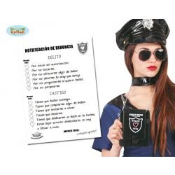 LIBRO MULTA POLICIA