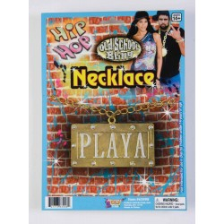 COLLAR PLACA PLAYA HIP HOP