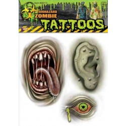 BLISTER TATTOO ZOMBI SURT