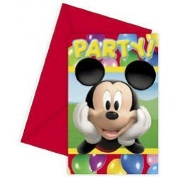 PAQ.6/U INVITACION SOBRE MICKEY PART