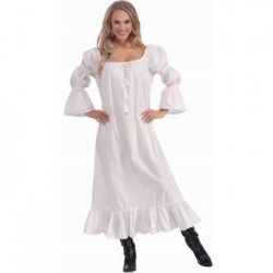CAMISON BLANCO T-UNICA CHICA MEDIEVAL