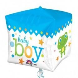 GLOBO 15 FORMA CUBO 3D RANA BABY BOY