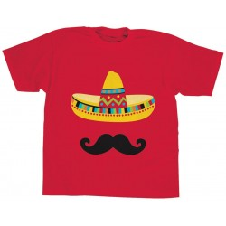 CAMISETA ADULTO T-UNICA FIESTA MEXICANA