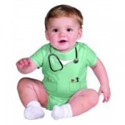 DISFRAZ 6A12 MESES DOCTOR