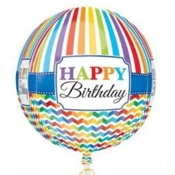 GLOBO ESFERICO HAPPY BIRTHDAY