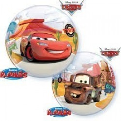 "$ GLOBO 22"" BURBUJA CARS MCQUEEN MATTER"