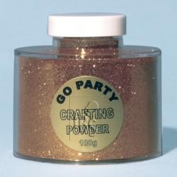 BOTE GLITTER PARA GLOBO ORO 100GR