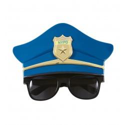 GAFAS OFICIAL POLICIA FORMA GORRO