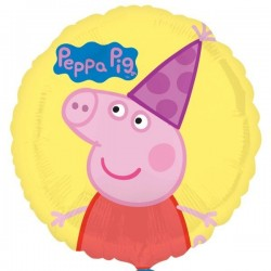 "GLOBO 18"" FOIL RND PEPPA PIG"
