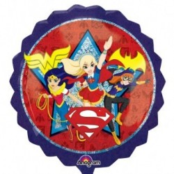 "GLOBO 28"" FOIL SUPER HERO GIRLS"