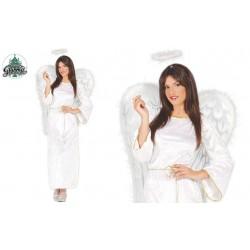 DISFRAZ T-M ANGEL TUNICA