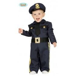 ! DISFRAZ 6A12MESES POLICIA BABY