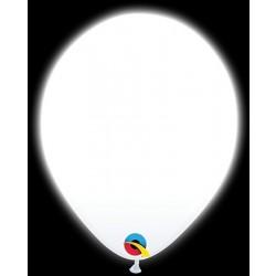"""$D 5 GLOBOS 11"""" Q-LITE LED BLANCO"""
