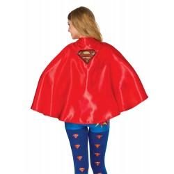 L CAPA ADULTO ROJA C/INSIGNIA SUPERMAN