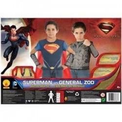 CAJA CAMISAS 8A10AÑOS SUPERMAN VS ZOD