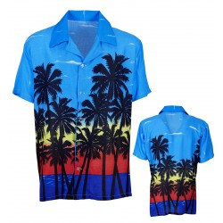 CAMISA ADULTO T-XL HAWAIIANA PALM
