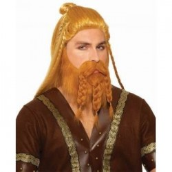 SET PELUCA   BARBA VIKINGO