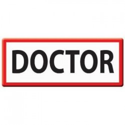APLIQUE BORDADO DOCTOR