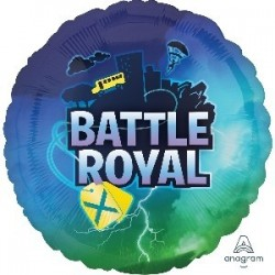 "GLOBO 18"" FOIL BATTLE ROYAL"