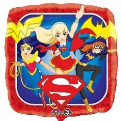 "GLOBO 18"" FOIL SUPER HERO GIRLS"